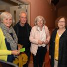 Suzanne Bennett, Al and Rosanna Nolan, and Ann Nolan at Crois Dearg Drama Group's production of 'Widows Paradise' in Glenealy Hall