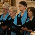 Avoca Valley Singers performing in 'A Celebration of Song' at St Patrick's Church in Wicklow town
