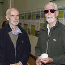 Andrew Lloyd and Jim Sheehan (Wicklow Uplands Council) at the Sustainable Uplands Agriculture environment Scheme (SUAS) open day and demonstration event in Hollywood