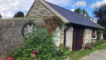 Knockananna Tidy Towns completed the restoration of the old blacksmiths house