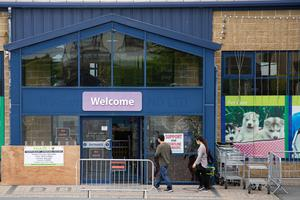 Hardware stores and garden centres reopened on Monday