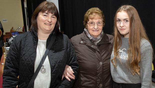 Connie Byrne, Molly Byrne and Niaobh Concagh at the event