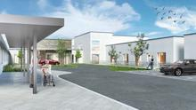 An artist's impression of the proposed development at St Colman's