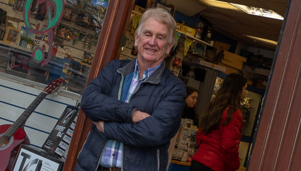 Sean Olohan shuts up Track One Music Store after 40 years