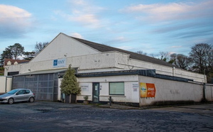 The site of the planned cafe