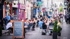 Princes Street, Cork. Corkonians got outdoor dining right but will this work everywhere?