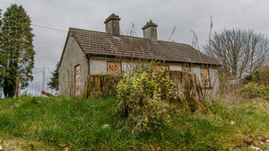The house in Glenealy that was targeted by vandals