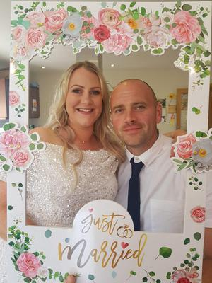 Kate Doyle and Mick Miley had invited 230 guests to their special day, but it was postponed due to Covid-19. They decided to walk up the aisle as planned on June 4