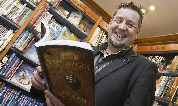 Michael J. Synnott's launches his book The Magus conspiracy in Bridge street books, Wicklow