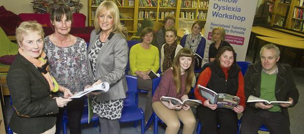 Deirdre McGuinness, Maeve McBride and Joan Mc Grath in Arklow community college
