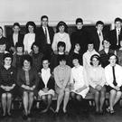 The Carnew class photograph taken almost 50 years ago