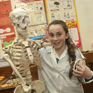 Aimee Byrne at the Dominican College open evening