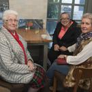 Marie Cowman, Sinead and Mary King at the Wicklow cancer support coffee morning in the Bridge tavern