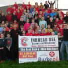 Inbhear Dee Atheltic Club gear up for the Streets of Wicklow 5k on St Stephen's Day