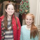 Sarah Fitzgerald and Eadaoin O'Keane at the Voice of Wicklow in the Grand Hotel