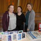 Gemma Byrne, Patricia Cullen and Orlagh Kelly at the St Mary's Christmas fair, Arklow