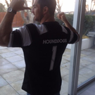 Rob Kearney and the new jersey
