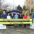 The 2016 Holmestead All Ireland Schools Hunter Trials are launched by Bertram Allen at Coláiste Bhríde, Carnew