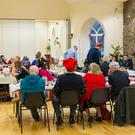 Christmas Day celebrations at Wicklow Parochial Hall