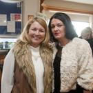 Imelda Riley and Lisa Murphy at the Arklow Lions club little Christmas ladies lunch in Arklow golf club.