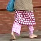 Stepping out in one's pyjamas