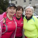 Julie Heapes, Gillian Keenan and Patricia Gibson at the Wicklow hospice 10km and half marathon in Avondale