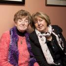 Mary Hallis and Betty Scott at the Rathdrum cancer support group social evening