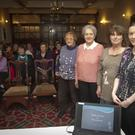 Florence Dagg, Phyllis Mates, Miriam Osborne and Mairead McDaid at the IFA farm families Health exercise physiotherapy in the Woodenbridge hotel