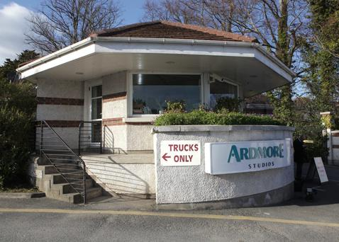 The Entrance to Ardmore Studios