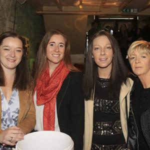 Suzanne and Ciara Doyle, with Aoife Kavanagh and Jenny Quinn