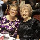 Bridget Timmons and Imelda Byrne at Breda Cunnington 80th birthday in the Wicklow Heather, Laragh