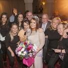 Jane with some of her supporters at the Wicklow Rose selection at the Grand Hotel