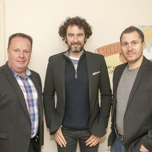 The Three Tenors, James Nelson, Matthew Gilsenan and Daryl Simpson