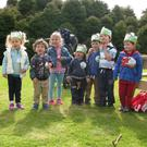Children from Small Talk taking part in the Big Toddle