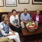Isobel Johnson, Catherine Shaw, Chairman Tom Short, Florence Dagg and Phyllis Mates at the launch or the Food from our Farms, IFA farm families in the Woodenbridge hotel
