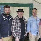 """Jason Moran, Paul Coates, Ben Dunne and Fergal canterbury, """"The Chosen few"""" at the Wicklow pride concert in the park, Arklow"""