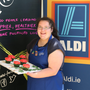 Aoife ONeill from Crossbridge Foróige who goes through to semi-final of the Aldi National Junior Baking Competition