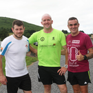 Darren Mooney, Stephen Perry and John Dempsey from Tinahely