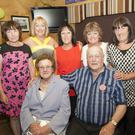 Bill Nolan with his wife Agnes and daughters, Lily Keogh, Wenday Jordan, Marie Nolan, Theresa Keogh and Josie Whelan