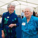 Deidre Larkin and Bernadette O'Reilly at the official opening of the Parnell Summer School in Avondale house, Rathdrum