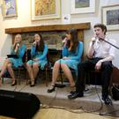 Ashford Community and Heritage Centre sing along concert with the Kelly family: Frank, Rebecca, Orlaith, Emily, and John Kelly sing the West Clare Railway Song