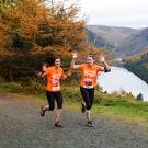 Participants at last year's Glendalough Trail taking in some of the stunning views