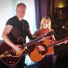 Clive Barnes and Luan Parle at the Arklow Cancer support group concert in the Arklow Bay Hotel