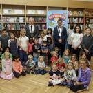 Some of the children who took part in the Arklow Library Summer Stars reading programme