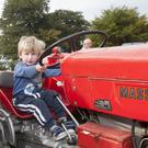 Ryan Breen tries a vintage tractor for size