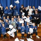 Pupils from the Holy Rosary in Wicklow Town rehearse for 'Mary Gordon'