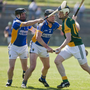 Jim (far left) in action for Wicklow against Meath in 2012