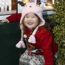 Arianna Kennedy at the Rathdrum Christmas lights switch-on