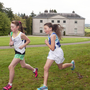 Avondale House during a Wicklow cross-country running event
