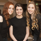 The committee: Chloe Bolger, Ciara McGuirk and Nicole Sinnott